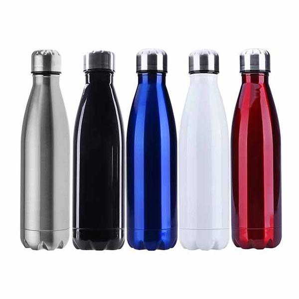 SIlver Cap Sports Bottle