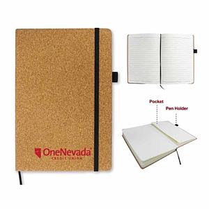 Cork Cover A5 Notebook