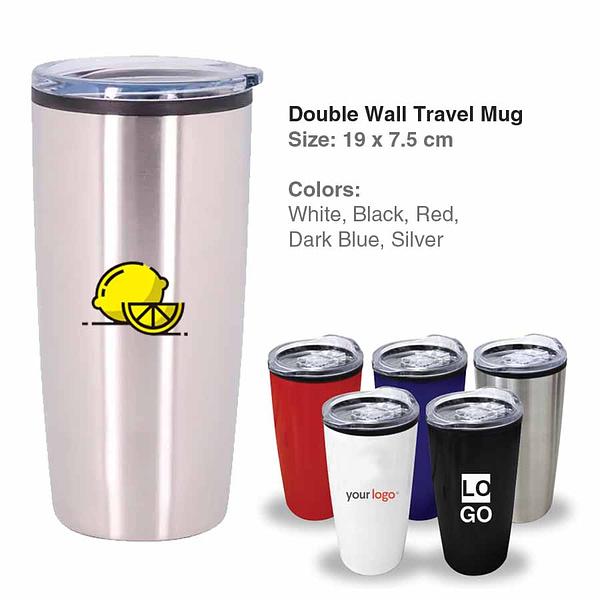 Double Wall Travel Mug