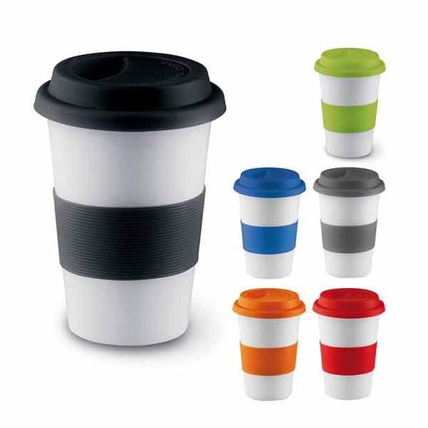 Coffee Mug With Silicon