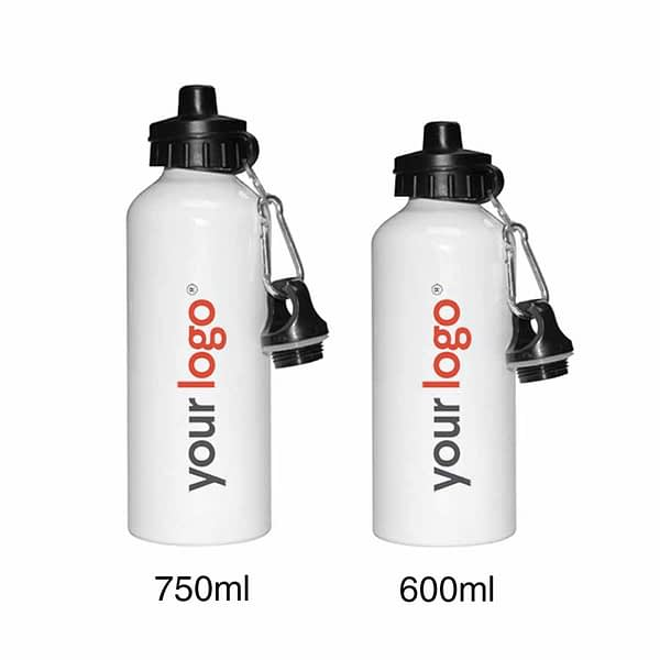 White Steel Bottle